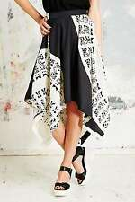 Carin Wester Alma Skirt - Black Fan Print - Extra Small - RRP £175 - New