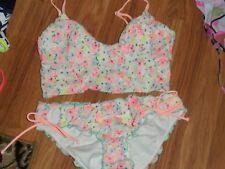 VS Victoria's Secret swim bikini bathing suit ~ bottom & top Small