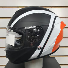Open Box Bell Star MIPS Motorcycle Helmet Tantrum Black/White/Orange Size XL