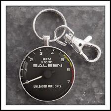 Saleen  Tachometer Photo Keychain Mustang Pendant Gift 🎁