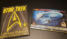 Star Trek 30th Anniversary Limited Edition Metal Collector Card 1996 Paramount