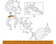 Lexus TOYOTA OEM 04-06 ES330 Brake-Rear-Strut Right 4761320040