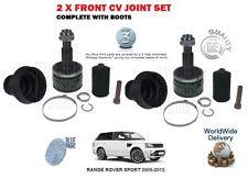 FOR LAND ROVER RANGE ROVER SPORT V6 V8 2005-> NEW 2 X FRONT OUTER CV JOINT KIT