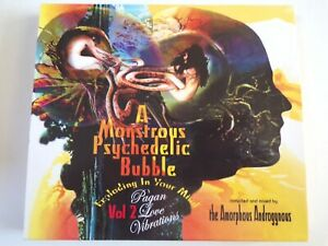 The Amorphous Androgynous - A Monstrous Psychedelic Bubble Volume 2 CD UNPLAYED
