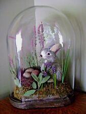 Pottery Barn Garden Bunny Cloche Rabbit Easter Springtime ~ NEW