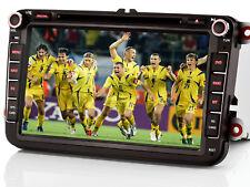 "8"" AUTORADIO GPS NAVI DVD USB Für VW PASSAT GOLF TIGUAN TOURAN Sharan POLO Caddy"