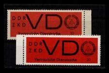 DDR ZKD 1965 Nr D3x+y postfrisch (403790)