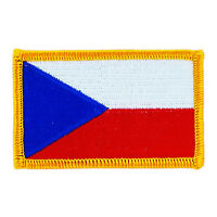Republic of Djibouti FLAG Iron-on PATCH SOUVENIR EMBLEM GOLD BORDER #07