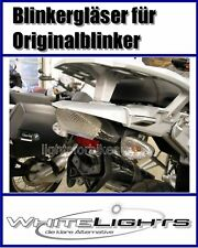 blanc Lunettes de clignotants BMW R 1200 GS K 1200 R TRANSPARENT VERRE DE SIGNAL
