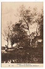 marseille,musée de longchamp, corot , le bouleau