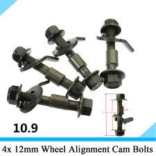 4Pcs Steel Car Wheel Alignment Camber Bolt Screw with no-slip Gasket Repair Tool