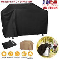 """BBQ Gas Grill Cover 57"""" Inch Barbecue Waterproof Outdoor Patio Garden Protection"""