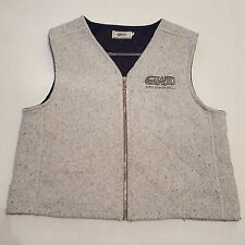 Guess Work Denim Vest Vintage Designs Since 1981 American Tradition Large GWD
