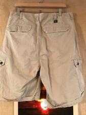 Wear First Men's Cotton Sheeting Cargo Shorts