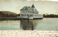 Postcard Cranberry Lake Hotel New Jersey Posted 1907