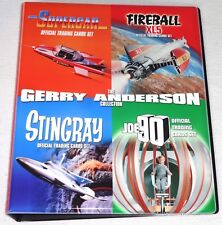 Stingray Fireball XL5 Joe 90 Supercar-  Base/Chase Sets + Binder+ Pages + Promos