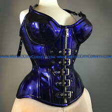 NEW MCC-22 OVERBUST CORSET TIGHT LACING WAIST TRAINING MYSTIC CITY CORSETS L-28""