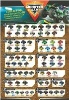 New 2019 Monster Jam Spin Master 1:64 Scale Die-cast Trucks (Assortment Choose)