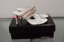 Diesel Women US 8.5  leather upper Intrude Sandals  r21007