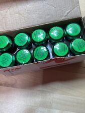 10 Nin Electric Green Led Indicator Lamp Signal Light Ad101 22ds Lot New