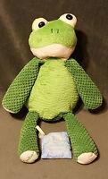 "2010 SCENTSY BUDDY 16"" Plush RIBBERT The FROG Green Stuffed W/ Scent Pak Nursery"