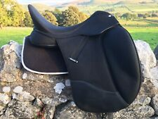 """17.5""""  (44cm) Wintec Isabell Werth Dressage Saddle with CAIR Black Adjustable"""