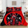Deadpool Single/Double/Queen/King Bed Doona Quilt Duvet Cover Set Pillowcase