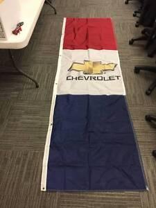 Chevrolet Dealership 9'  Light PoleAdvertising Rectangle Banner Flag Kit