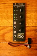 Mutable Instruments Peaks Clone by Momo Modular - Black and Gold Panel