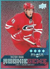 2014-15 Black Diamond Ruby Rookie Gem card# 247 of Victor Rask