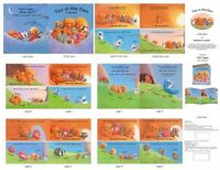 Ten In The Den Bears Cotton Quilting Fabric Book Panel