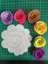 D039 Quilling Roll Up Flower Cutting Die For Sizzix Spellbinders ect. Machine