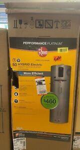 Rheem Performance 80Gal. Hybrid High Efficiency Smart Tank Electric Water Heater
