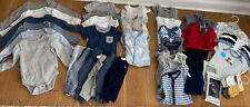 Large Lot 0-3 Month Baby Boy Clothes - Baby Gap And More