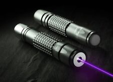 5mW High Power  High Power Purple Blue Laser Pointer Pen Beam Light Visible