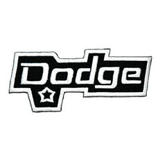 Dodge charger challenger Retro Sports Car Racing Emblem Clothing Iron on patch