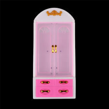 Princess Bedroom Furniture Closet Wardrobe For Barbie Dolls Toys Girl Gifts EP