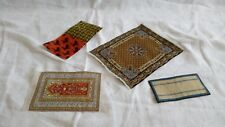1/12th Dolls House Collection of Carpet Rugs & Mats Persian