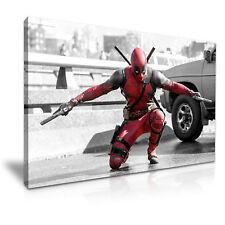 DEADPOOL Movie Canvas Framed Print Wall Art ~ More SizES DECO MODERN