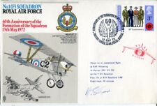 1st ever KLM Airlines pilot & 1st ever commercial flight signed cover