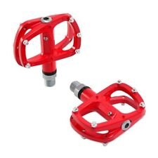 Wellgo R146 Sealed Bearing MTB Alloy Pedal , Red