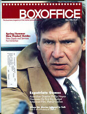 Box Office Magazine May 1992 Harrison Ford Patriot Games EX 040516jhe