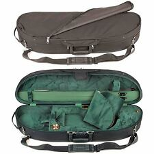 Bobelock 1047 Half Moon 1/2 Violin Case with Green Velour Interior