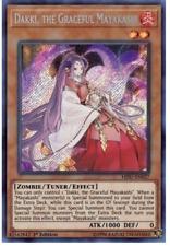 Dakki, the Graceful Mayakashi - HISU-EN027 - Secret Rare - 1st Edition - Yugioh