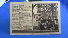 cpa illustrateur fantaisie  marionnette guignol lyon louise 3  place bellecour