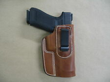 Taurus Pt 809 9mm Iwb Leather In Waistband Concealed Carry Holster Ccw Tan Rh