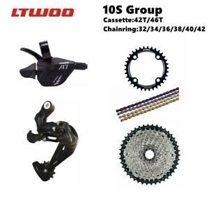 LTWOO A7 10 Speed Group Set MTB 10S Build Kit 42/46T  Folding Bike Travel Bike