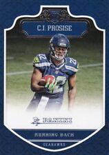 C.J.Prosise 2016 Panini Football Trading Card, (Rookie) #275