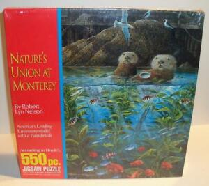 New Sealed 1993 HOYLE Products NATURE'S UNION at MONTEREY 550 Pc Jigsaw Puzzle