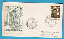 BUSTA FDC SAN MARINO CAPITOLIUM VIAGGIATA  1979 STOMATOLOGIA   1 VALORE